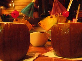 Mai tais at the Tonga Room: Evanescent as summer itself? - EENWALL/FLICKR