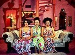 WOFFORD/BARRIOS/ESTRADA - Mail Order Brides/M.O.B. vamping - at the - Madonna Inn.