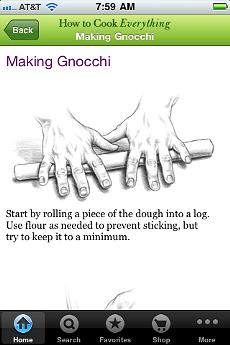 Making gnocchi with Mark Bittman.