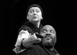 PATRICK  DOOLEY - Mamma Mia: Mother Courage (Trish - Mulholland) and the chaplain (John - Thomas, who also wrote the original - score).