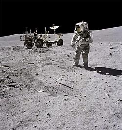 THINKFILM - Man on the moon. How quaint!