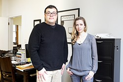 GABRIELLE LURIE - Managing Editor Oscar Villalon and Editor Laura Cogan.