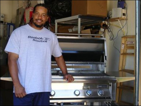Manny Ramirez and his former appliance