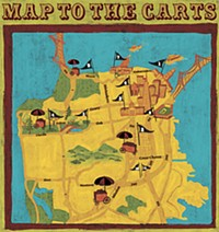 Map to the Carts