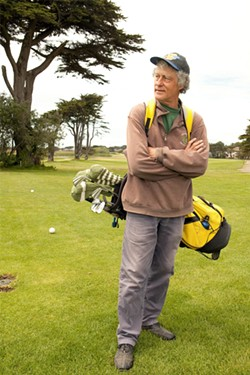 FRANK GAGLIONE - Marc Neilson says Sharp Park is one of the last affordable golf courses in the Bay Area.