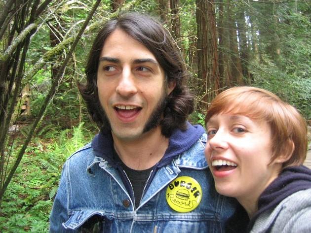 Marc Ribak with Amy Carver.
