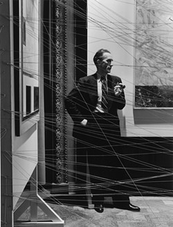 COURTESY OF THE CONTEMPORARY JEWISH MUSEUM, SAN FRANCISCO - Marcel Duchamp, photographed by Arnold Newman, 1942