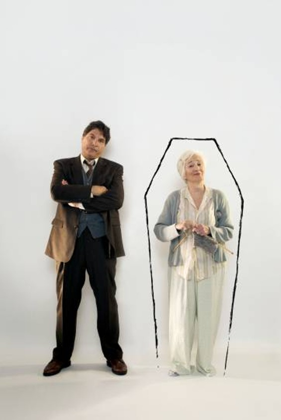 Marco Barricelli and Olympia Dukakis in Vigil - KEVIN BERNE