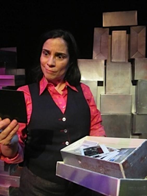 "Marga Gomez in ""Lovebirds"" - PATTI MEYER"