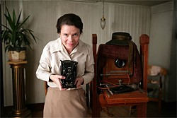 Maria Heiskanen (Maria) starts out as a mouse and achieves resilience and control through her photography.
