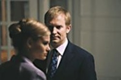 PER  ARNESEN - Maria (Lisa Werlinder) and Christoffer - (Ulrich Thomsen) have more than one - emotion to play.