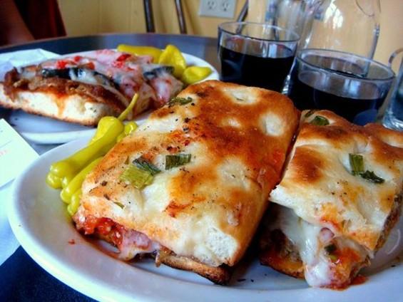 Mario's meatball sandwich on onion foccacia. - KEITH Y./YELP