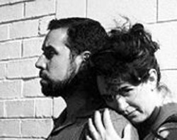 TORANGE  YEGHIAZARIAN - Mark Farrell and Cindy Goldfield star in  A Tunnel in - Palestine, one of the plays showcased in ReOrient - 2002.
