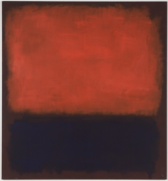 Mark Rothko, Number 14 - COURTESY OF SFMOMA