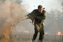 Mark Wahlberg plays Bob Lee Swagger, a former Marine sergeant with post-traumatic stress.