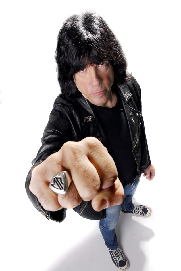 Marky Ramone will appear at the JCCSF tomorrow, Jan. 24.