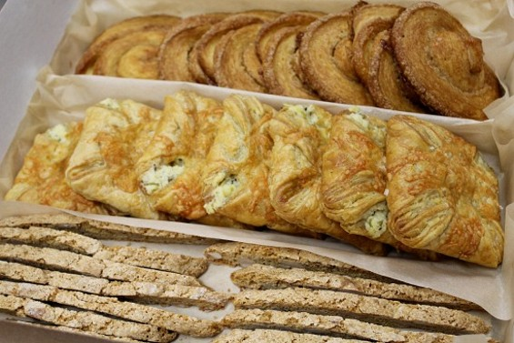 Marla Bakery pastries ready for delivery. - ALEXIS KATSILOMETES