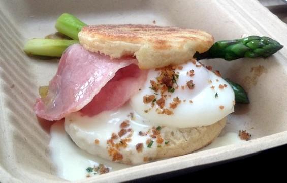 Marla Bakery's Sunday Special Sandwich. - OMAR MAMOON