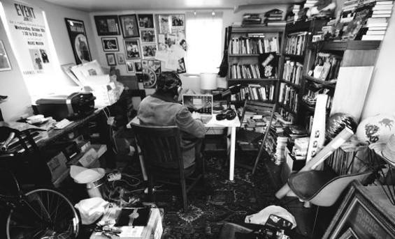 Maron in his home studio - DMITRI VON KLEIN