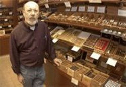 JAMES  SANDERS - Marty Pulvers nurtured the Haven into one of the world's most respected tobacco shops.