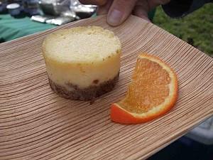 Mascarpone cheesecake. - T. PALMER
