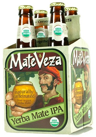 MateVeza's organic India Pale Ale.