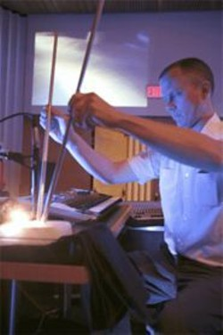 GENE  HWANG - Matmos finds music in dry ice.