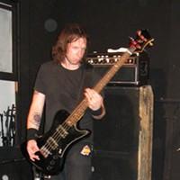 High On Fire at Amoeba Records, SF Matz. Bass. By David Downs