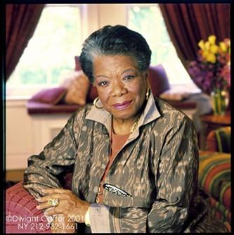Maya Angelou - DWIGHT CARTER
