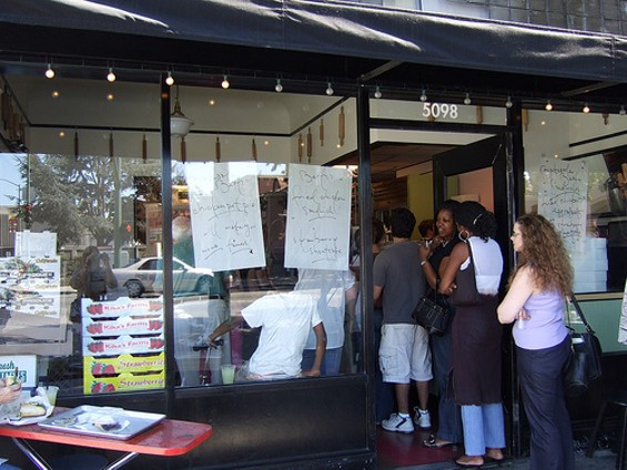 Maybe the line at Bakesale Betty in Temescal won't be quite so fierce Sunday. Then again... - TERRIEM/FLICKR