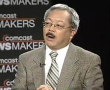 Mayor Lee goes off script