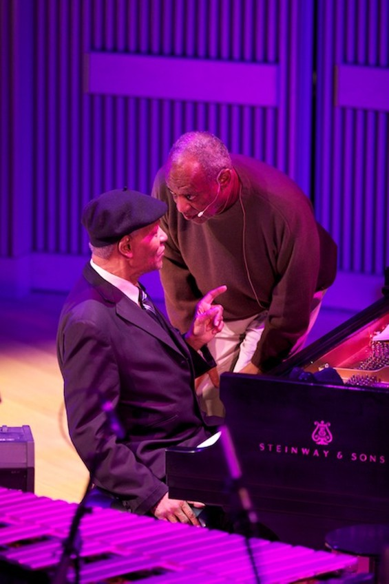 McCoy Tyner with Bill Cosby - SCOTT CHERNIS FOR SFJAZZ