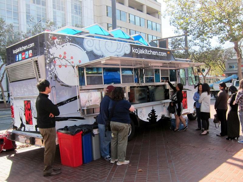 Koja Kitchen Food Truck Location