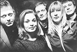 BRAD  MILLER - Mekons (Rico Bell, far right).