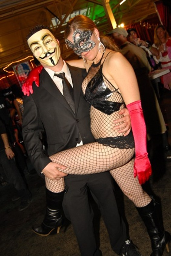 Member of Anonymous and Girlfriend
