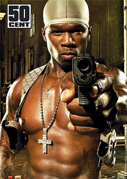 Men who 50 Cent deems should kill themselvs for failing to 'eat pu**y' may be helped along by 50 himself