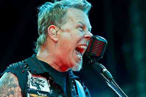 Metallica has more best-selling albums than any other Bay Area artist in the past 25 years. - FLICKR/PESTFOTO