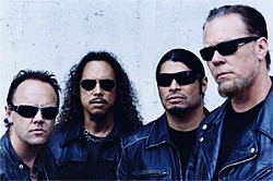 Metallica: Nobody's monster now.
