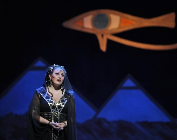 Micaela Carosi as Aida - CORY WEAVER