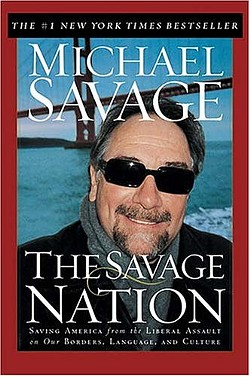 Michael Savage is an angry man.