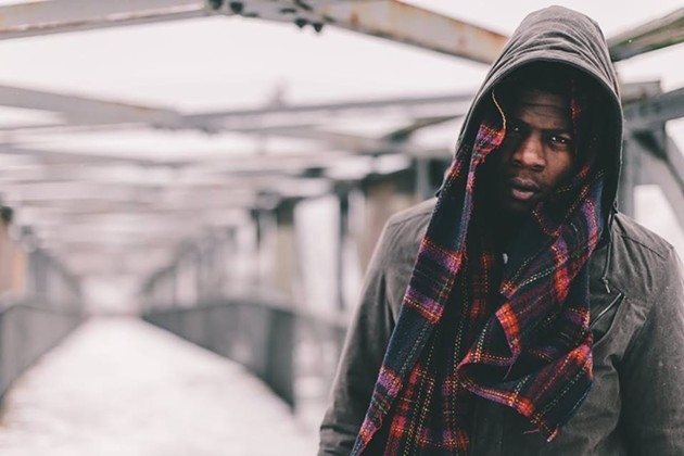 Mick Jenkins performs at Leo's in Oakland this Friday, Feb. 27.