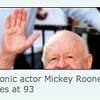 Mickey Rooney: <I>Chronicle's</i> Odd, Appropriate Obituary Photo