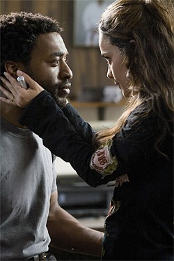 LOREY SEBASTIAN - Mike (Chiwetel Ejiofor), a jujitsu instructor, is a promising Mamet protagonist.