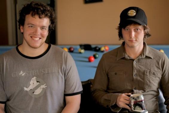 Mike Litzenberg (left) and Bridge Stuart are Slick Gigolo. - ANDREW CRIGHTON