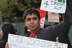 Minhaz Kahn is facing deportation on November 18.