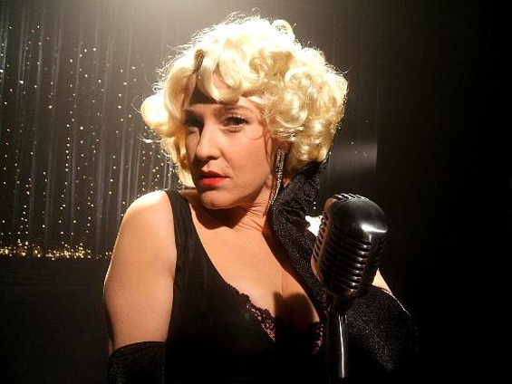 Miriam (Maya Dagan) may or may not be a backup singer for a famous pop star in Mary Lou.