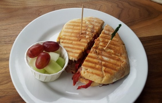 Mission Public's roast beef south sandwich - PETE KANE