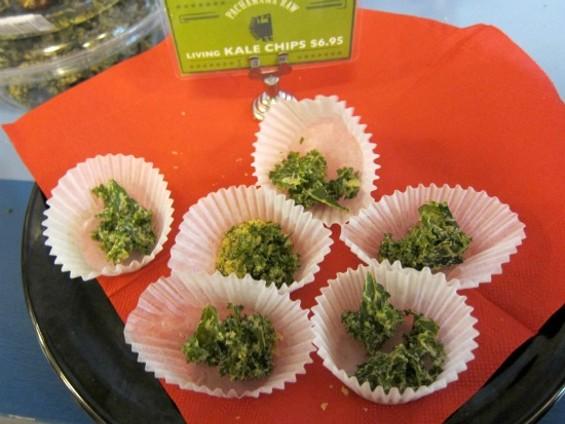 Mmm ... living kale