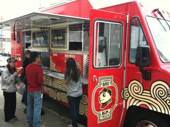 Mobile food development and management company Mobi Munch launched the Chairman Bao truck in SOMA this week. - DARREN L./YELP
