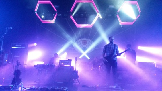 Mogwai at the Regency Ballroom on Friday.